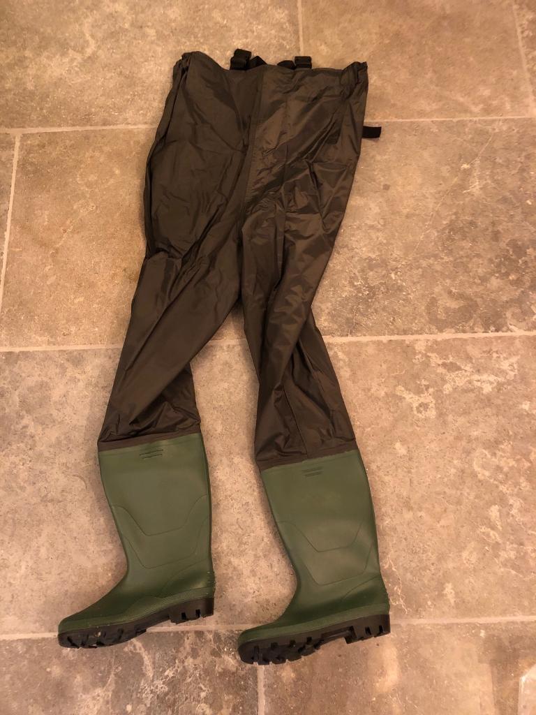 Dark Green Size 13 PR Chest Wader