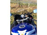 Suzuki GSXR 600 swap for naked bike