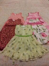 5 girls dresses 18-24 months