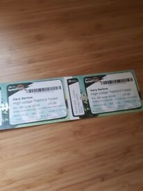 2 Gary barlow tickets thetford forest on 8th june