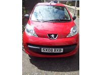 Peugeot 107,perfect condition low milage