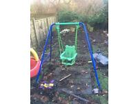 Toddler swing