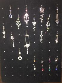 Body jewellery NEW collection and display stand