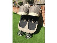 CITY MINI JOGGER TWIN RAINCOVER CUSTOM SEAT COVERS DOUBLE PRAM BUGGY BABY PUSHCHAIR