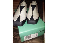 Brand New Pair of Clarks Privo Leather Shoes