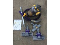 DYSON DC05 VACUUM CLEANER + EXTRA TOOLS & INSTRUCTIONS SPARES REPAIR