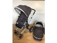 Joolz day pram travel system - with optional cybex aton 3 carseat and Isofix