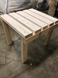Coffee table handmade