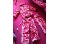 Girls winter suit 9-10 yrs