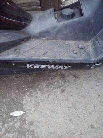 Moped 50cc keeway
