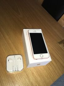 iPhone SE Rose gold 16gb very good condition