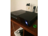 xbox one tb h.d and 3 games