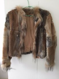 Real Rabbit Fur Jacket