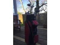 Full set of youth/ladies golf clubs and bag