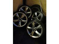 19inch a5 alloys wheels