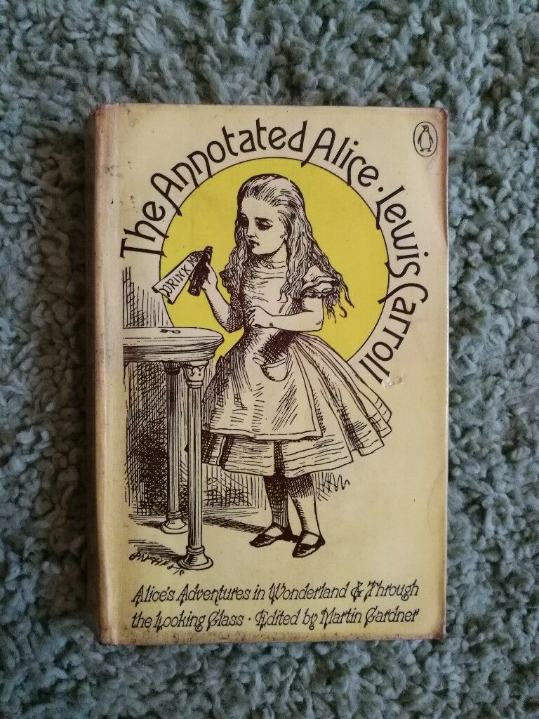 Beautiful Alice in Wonderland book from 1973