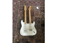 Doubleneck guitar H&S strat