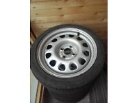 "Genuine Vw G60 15"" Steel wheels (golf,polo,corsa) 4x100"