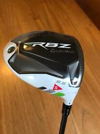 RBZ Rocketballz Golf Driver 9.5 degree stiff shaft