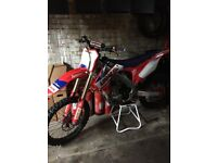 Honda crf250 fuel injected motocross mx bike