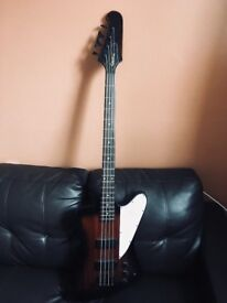 Must go by August 20th! Epiphone Thunderbird IV Reverse Bass with brand new hard case