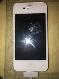 iPhone 4S White (64GB, Unlocked) ***QuickSale***