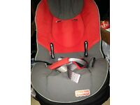 2 x child car seats, one for baby, one toddler to 4 years. Good condition, hardly used, Fisher Price