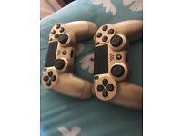 2x gold PS4 pads spares and repairs
