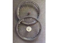 "26"" Race Disc Tubeless MTB Road Wheels Bontrager, SRAM 9 Speed Cassette & Schwalbe Road Tyres"