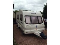 BAILEY'S SENATOR ARIZONA 2000 4 berth touring caravan with end wash room