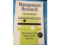 Management Research Thesis Dissertation Guide University Easterby-Smith