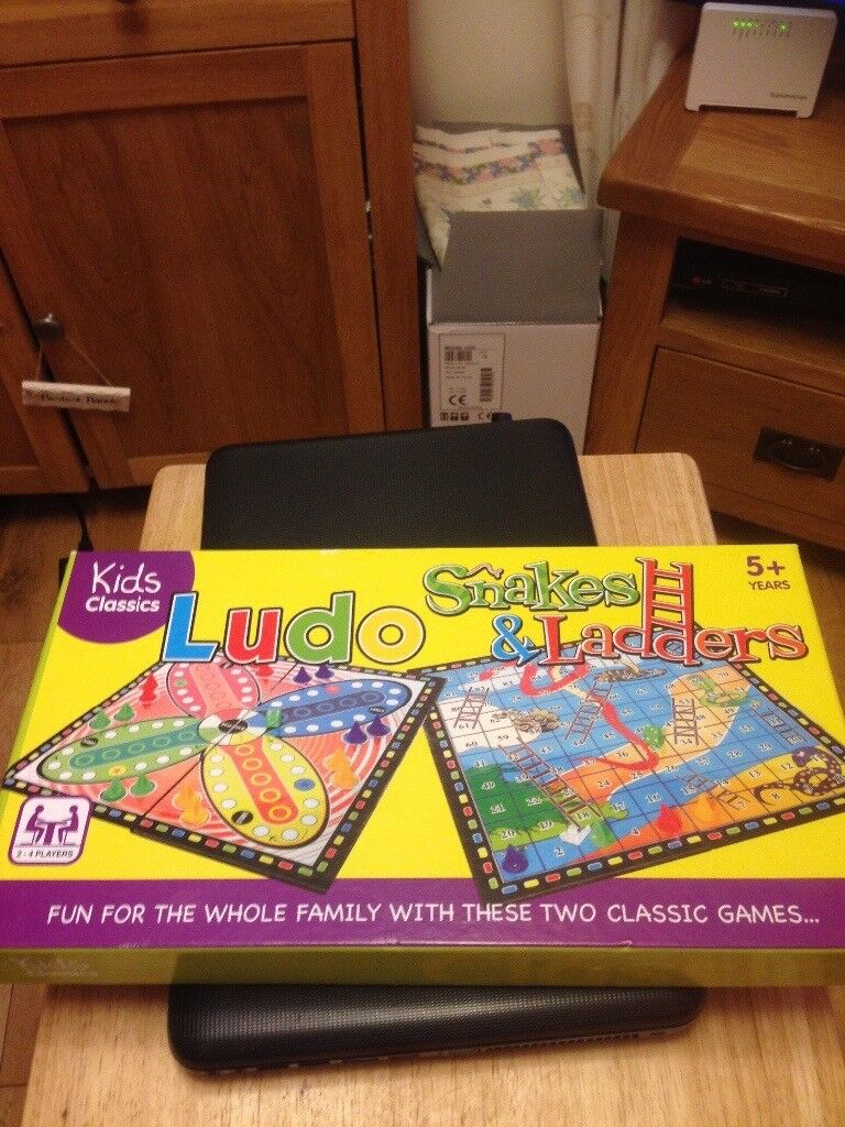 Ludo and snakes and ladders.