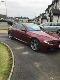 Very rare BMW M6 with low miles and full service