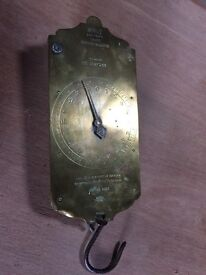 Antique Salters spring balance scales - very good condition! (vintage)