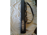 FISHING ROD OR SKI CARRIER SUITABLE FOR AIRLINE USE OR CAR ROOF BARS.