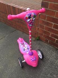 Minnie Mouse First Scooter