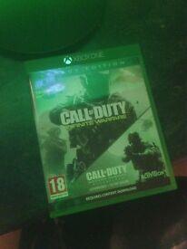 Call of duty infinite warfare legacy edition xbox one NEW
