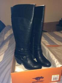 Black Rocket Dog Boots UK6