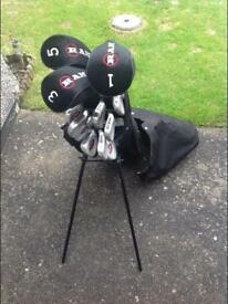 Full set of RAM golf clubs and bag