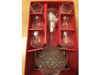 7 piece Cordial set new boxed