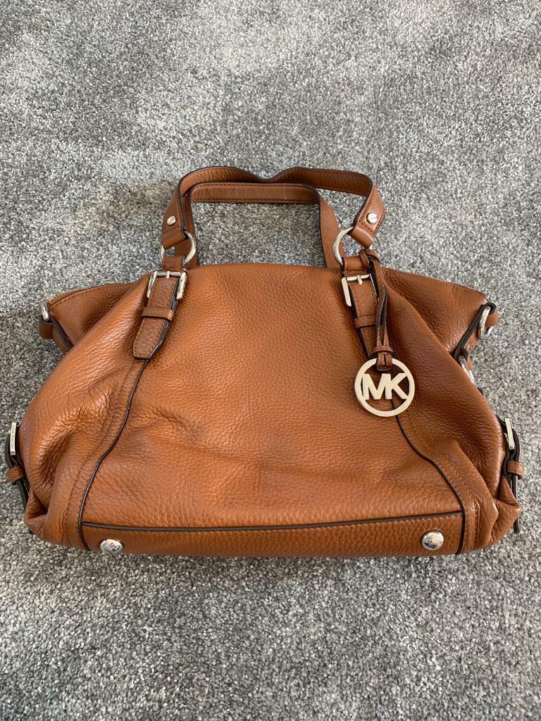 146d2915ab9 Genuine tan soft leather Michael Kors bag   in Exeter, Devon   Gumtree