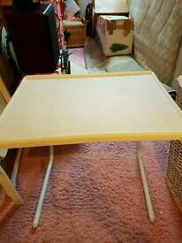 Fold away table