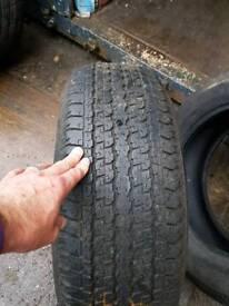Bridgestone 4x4 tyres 265 x 60 x 18