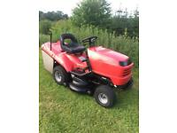 Honda hydrostatic ride on lawnmower