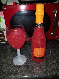 Glitter Glasses & Bottles