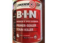 BIN Primer-sealer