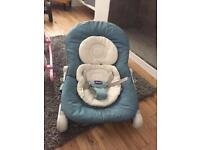Chicco baby bouncer.