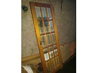 Free door, solid wooden