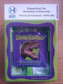 Dinosaurs Activity Tin - Educational Toy - still sealed , nice stocking filler