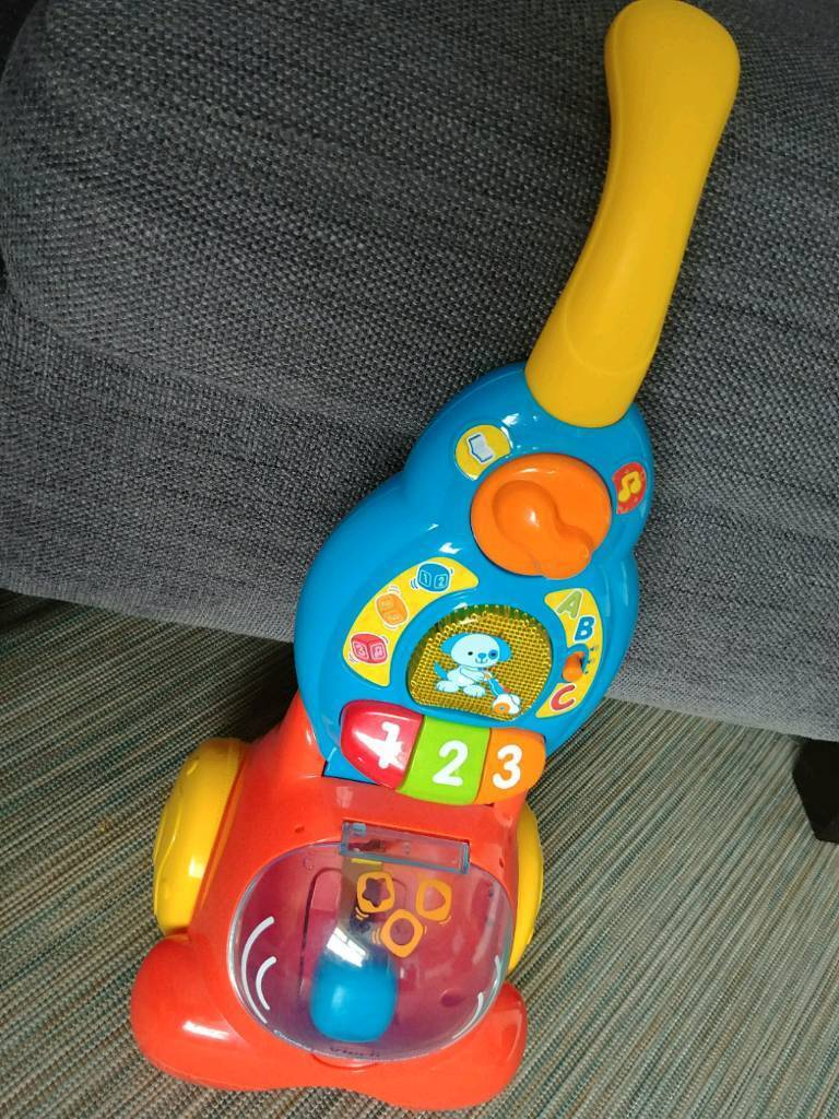 Vtech toy musical vacuum hoover baby toddler